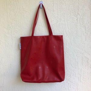 Macy's Red Shoulderbag Stars NWOT